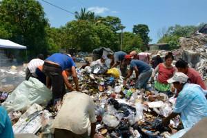 Die Müllkippe von Escuintla